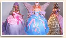 Barbie torták, barbi torták