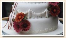 Esküvői torták, menyasszonyi torták Budapest Muki Cuki cukrászda