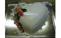 Szív torta ALK2054 - erre az alkalmi torta kódra hivatkozzon! Telefon: +36 1 318 8315