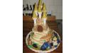 ESK2069 -  erre az esküvői torta kódra hivatkozzon!