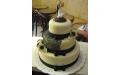 ESK2070 -  erre az esküvői torta kódra hivatkozzon!