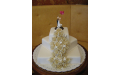 ESK2071 -  erre az esküvői torta kódra hivatkozzon!