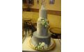 ESK2073 -  erre az esküvői torta kódra hivatkozzon!