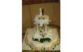ESK2080 -  erre az esküvői torta kódra hivatkozzon!