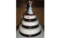 ESK2086 -  erre az esküvői torta kódra hivatkozzon!