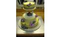 ESK2089 -  erre az esküvői torta kódra hivatkozzon!