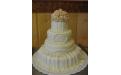 ESK2045 -  erre az esküvői torta kódra hivatkozzon!