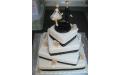 ESK2061 -  erre az esküvői torta kódra hivatkozzon!