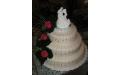 ESK2064 -  erre az esküvői torta kódra hivatkozzon!