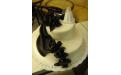 ESK2059 -  erre az esküvői torta kódra hivatkozzon!