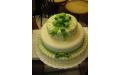 ESK2053 -  erre az esküvői torta kódra hivatkozzon!