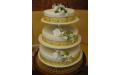 ESK2044 -  erre az esküvői torta kódra hivatkozzon!