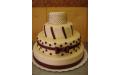 ESK2046 -  erre az esküvői torta kódra hivatkozzon!