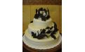 ESK2039 -  erre az esküvői torta kódra hivatkozzon!