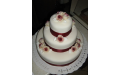 ESK2031 -  erre az esküvői torta kódra hivatkozzon!