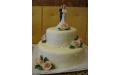 ESK2027 -  erre az esküvői torta kódra hivatkozzon!