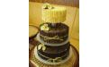 ESK2066 -  erre az esküvői torta kódra hivatkozzon!