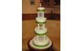 ESK2065 -  erre az esküvői torta kódra hivatkozzon!
