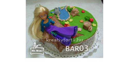 BAR2015 - erre a Barbie torta kódra hivatkozzon!