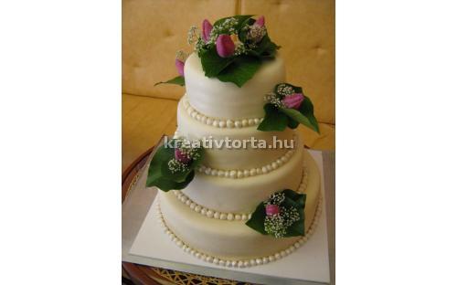ESK2025 -  erre az esküvői torta kódra hivatkozzon!