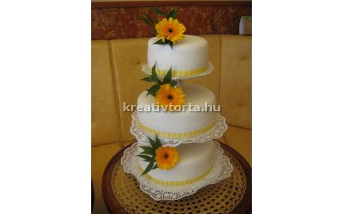 ESK2019 -  erre az esküvői torta kódra hivatkozzon!