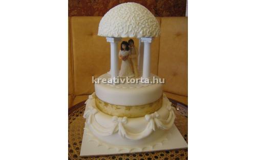 ESK2015 -  erre az esküvői torta kódra hivatkozzon!