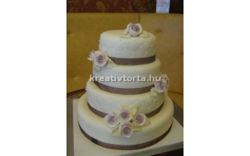 ESK2018 -  erre az esküvői torta kódra hivatkozzon!