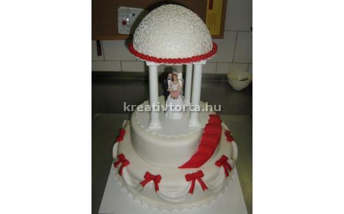 ESK2016 -  erre az esküvői torta kódra hivatkozzon!