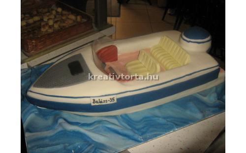 Hajó torta JAR2029 - erre a hajós torta kódra hivatkozzon! Telefon: +36 1 318 8315