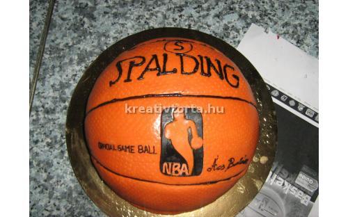 Kosárlabda torta KRE2113
