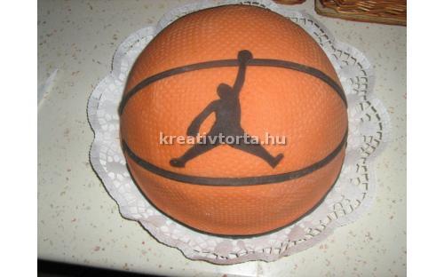 Kosárlabda torta KRE2054