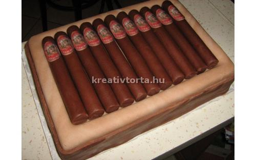 Szivardoboz torta KRE2020